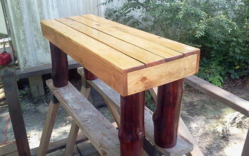 Foot Bench for Garden or the End of Your Bed