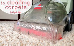 the easy guide to carpet cleaning, cleaning tips, flooring