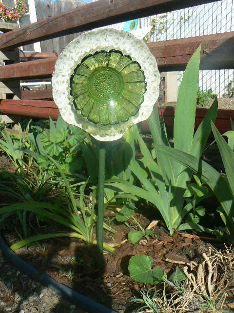 My Flower plate.