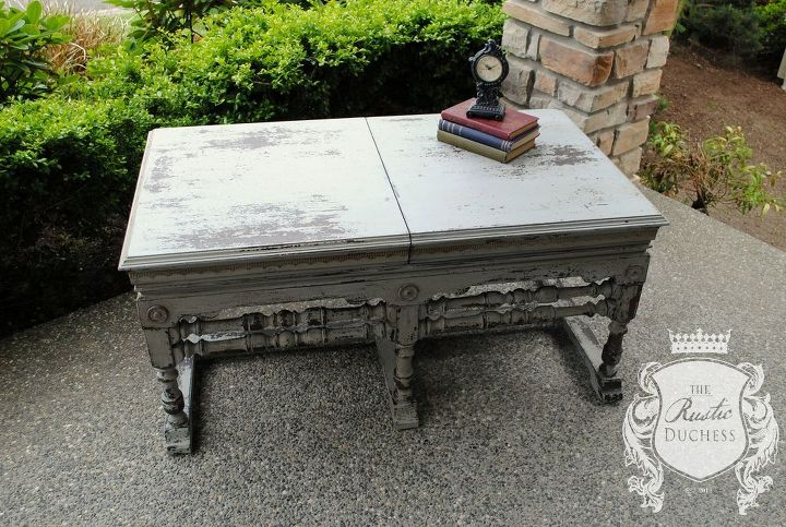 antique record cabinet, painted furniture, repurposing upcycling, rustic furniture