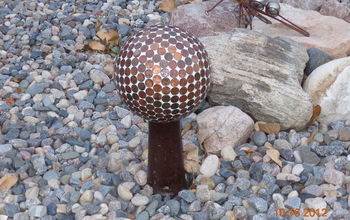 bowling ball gazing balls