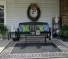 taking an ordinary patio to an extraordinary patio, outdoor living, patio, Beautiful pillows for warmth and color