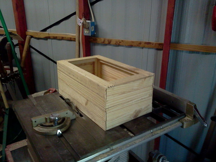 Wooden Box Made Out Of Scrap Wood Diy Woodworking Projects