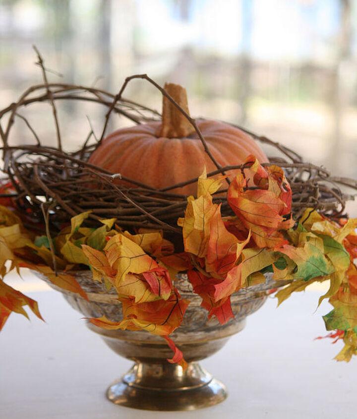 Add some fall foliage