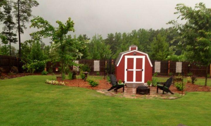 my garden barn, gardening, outdoor living