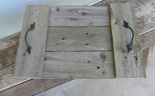 easy reclaimed wood trays, pallet, repurposing upcycling, woodworking projects, This is one version with the cross boards on top