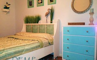 guest bedroom with charleston s c inspiration, bedroom ideas, home decor, painted furniture