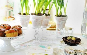 Setting the Table for an Spring Brunch Buffet