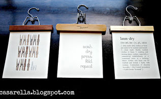 diy laundry room art, crafts, Laundry room art made from repurposed pants hangers and free printables