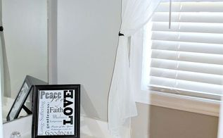 half bath makeover, bathroom ideas, home decor