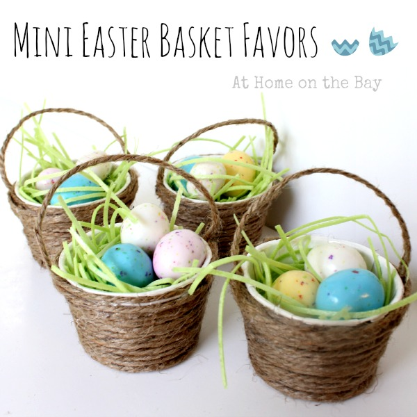 Mini easter basket favors hometalk mini easter basket favors crafts make mini easter basket favors for you guests negle Choice Image