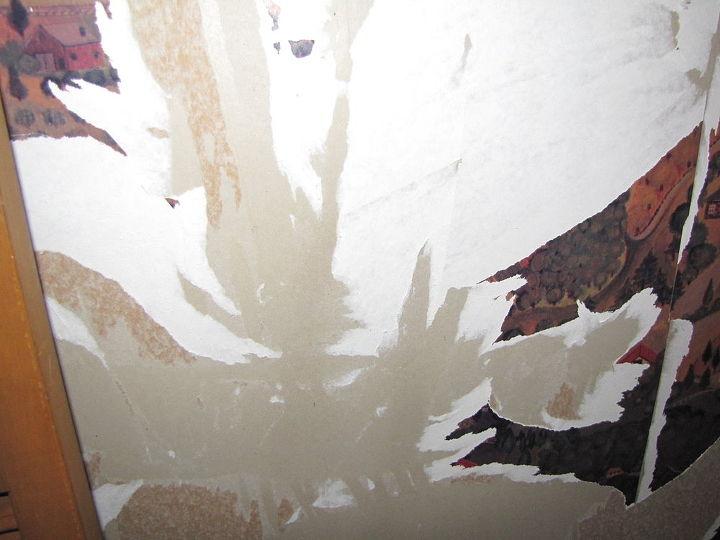 q help wallpaper is not coming off, diy, wall decor