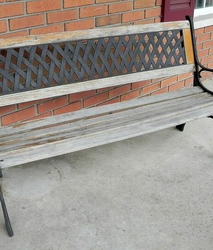 Paint, stain, something else???  http://www.madincrafts.com/2013/06/what-color-does-this-bench-want-to-be.html