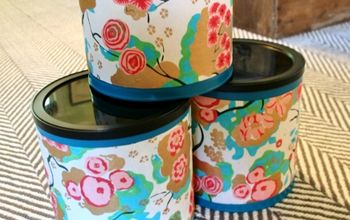 Upcycling Coffee Cans Into Organization Containers