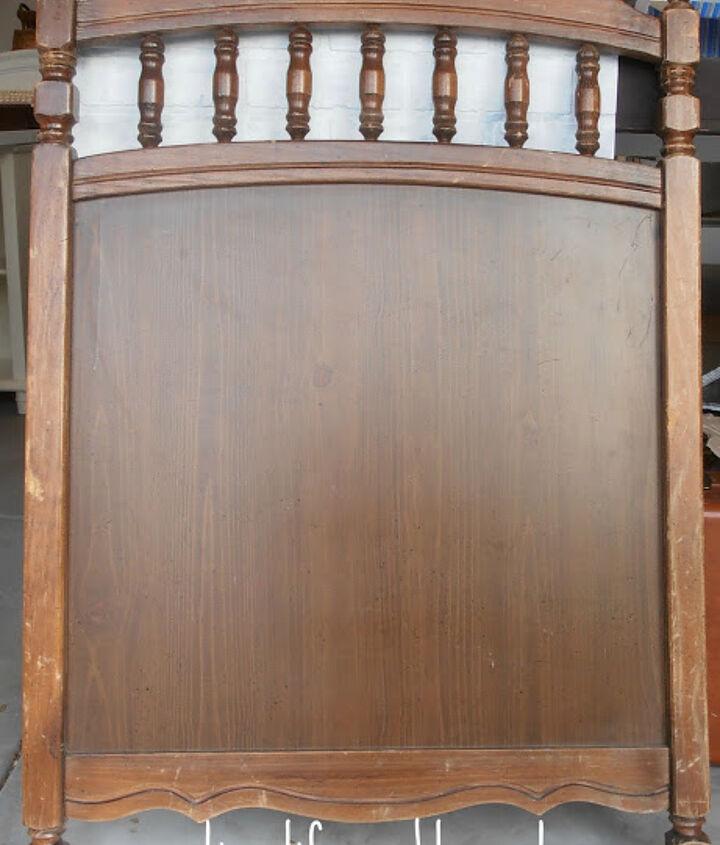 Crib panel BEFORE