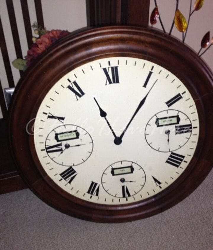 Old Pottery Barn Clock from our Decor area.
