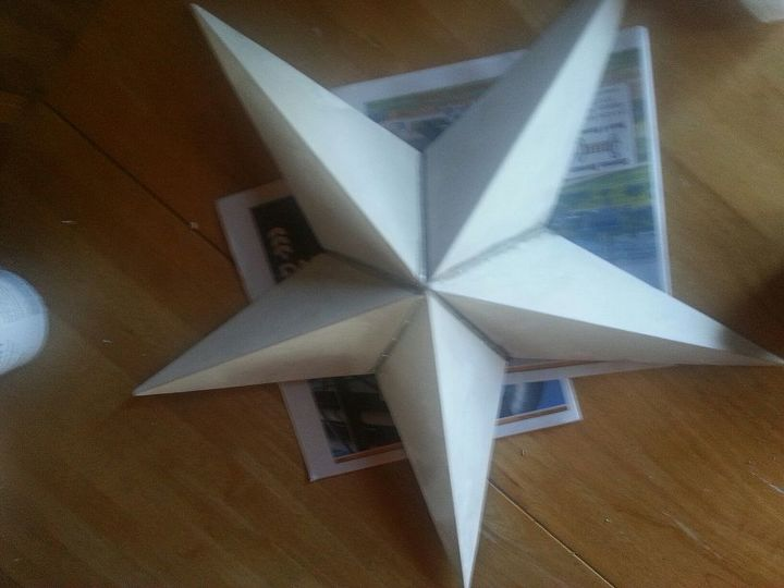 Painted the red star a neutral color