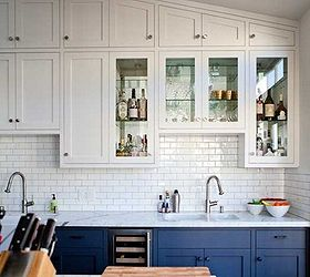 Two Toned Kitchen Cabinets Are The Best Of Both Worlds, Home Decor, Kitchen  Cabinets