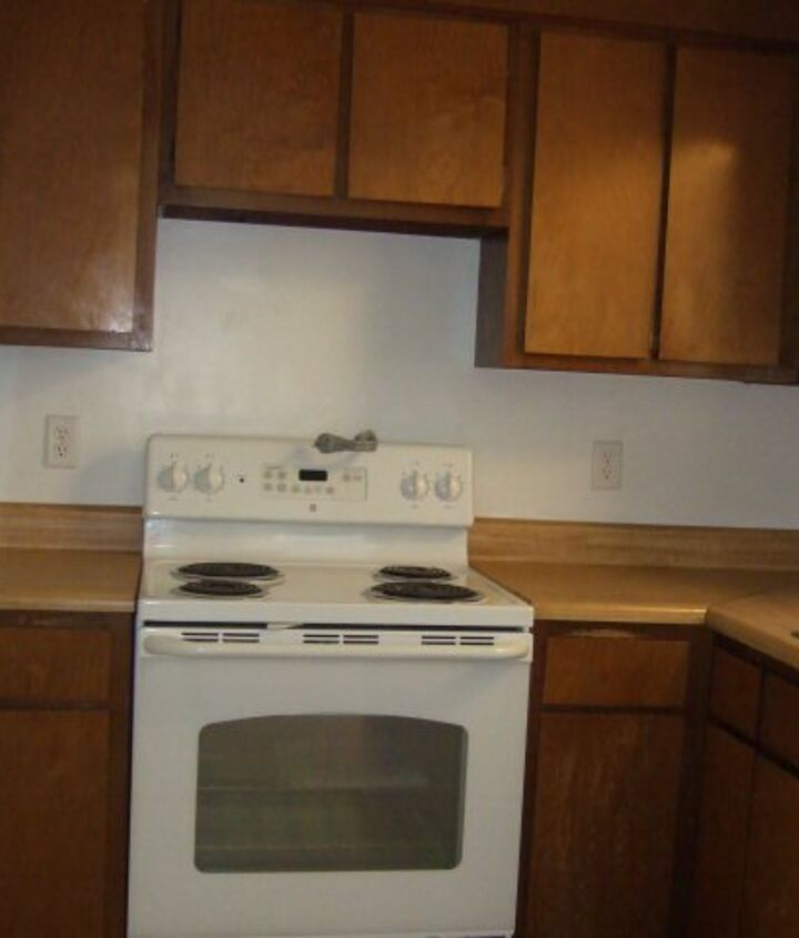 Old cabinets, countertops & appliances