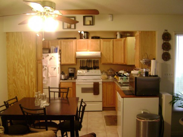 q our duplex remodel in amp out, doors, home decor, kitchen backsplash, kitchen design, tiling, 1st attempt all new appliances with second hand cooktop stove