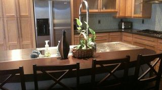 q small bar countertop area i hate it and want to lower what do you think, countertops, home decor