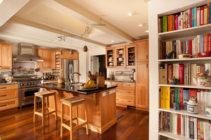 There's a brilliant spice-rack solution in this California kitchen remodel by Elite Construction. See more project photos here: http://www.daily5remodel.com/index.php?action=article&rowid=1268