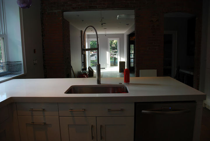 my daughters kitchen in jersey city, home decor, kitchen backsplash, kitchen design
