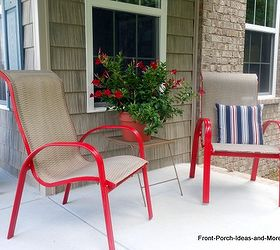 Delicieux How To Spray Paint Outdoor Chairs, Outdoor Furniture, Painted Furniture,  Don T The