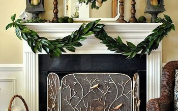 how to make a garland with magnolia leaves, christmas decorations, crafts, seasonal holiday decor