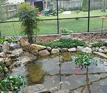 koi pond done by thepondmonster, outdoor living, ponds water features