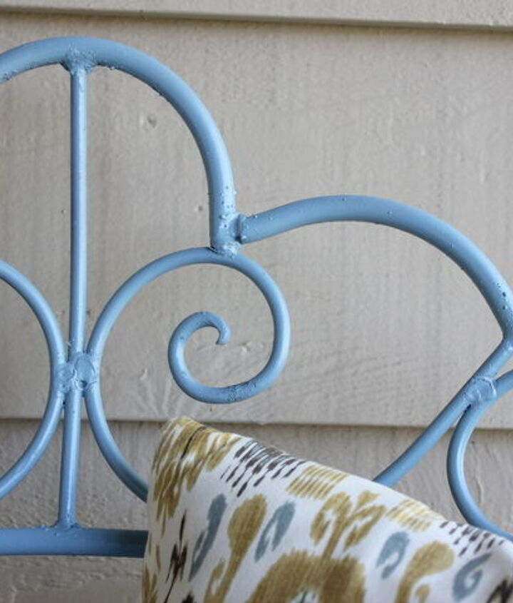 front porch bench makeover, outdoor furniture, painted furniture, porches