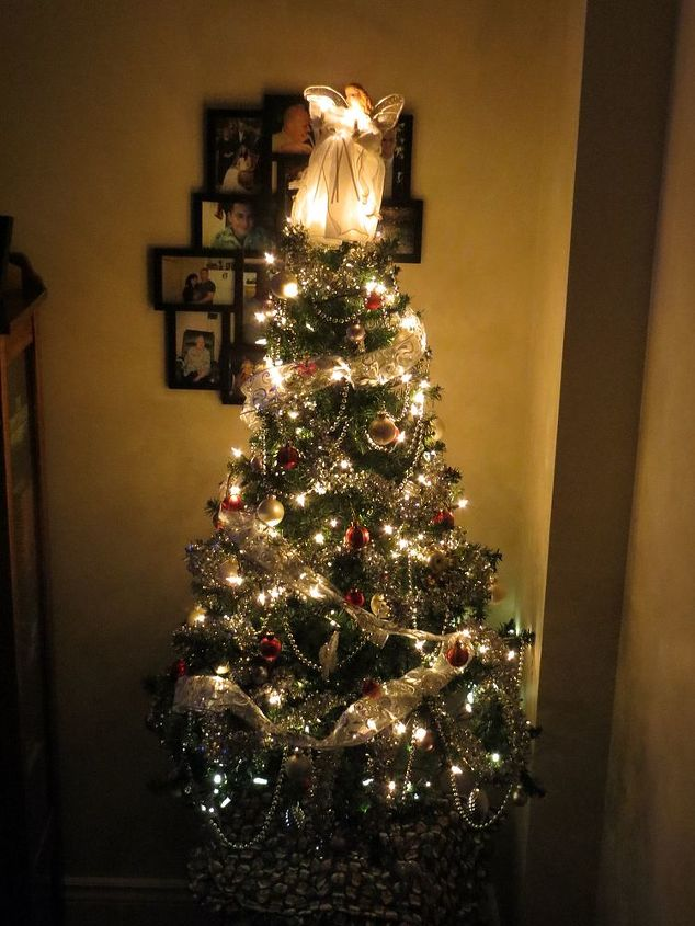 my smaller all white tree