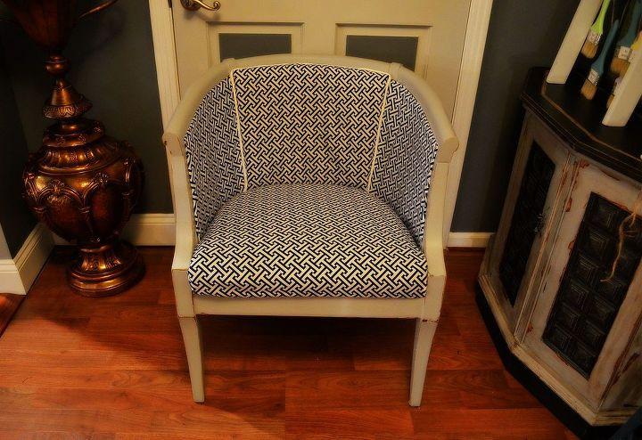 Vintage Cane Chair makeover~After