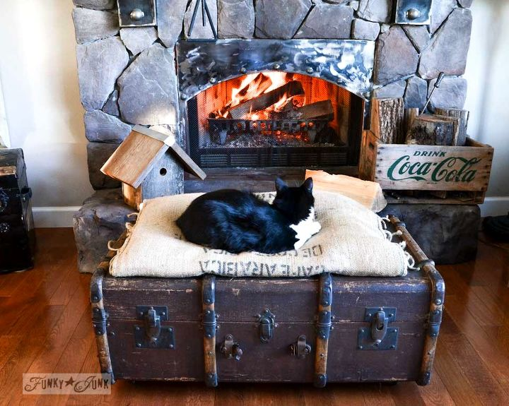 An old junky trunk has recently become pretty hot property around here!
