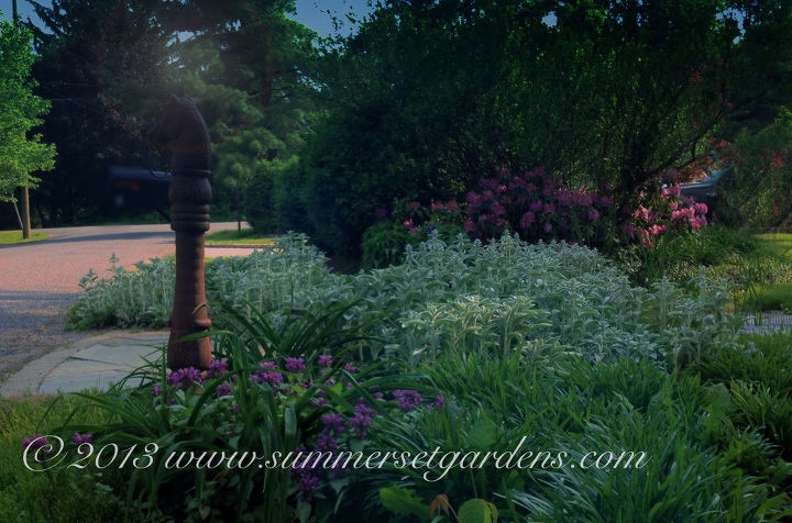 a country garden and masonry project in the ny hudson valley area, flowers, gardening, hydrangea, perennials