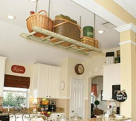 Diy Ladder Project Ideas, Repurposing Upcycling, Shelving Ideas, Storage  Ideas, Storage Space