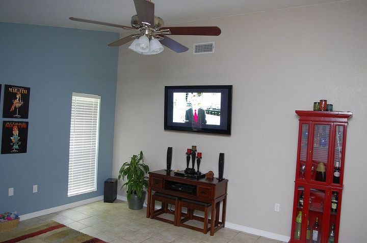 TV wall (on the right, across from couch wall).