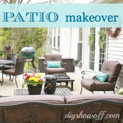 Patio season: small updates to spruce up the space.