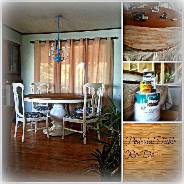 Craigslist Freebie Turned Amazing Dining Room Set for Under $100 ...
