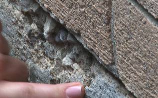 hwdiy cracked concrete, concrete masonry, diy, home maintenance repairs, how to, Cracked Concrete can compromise the water seal of your basement
