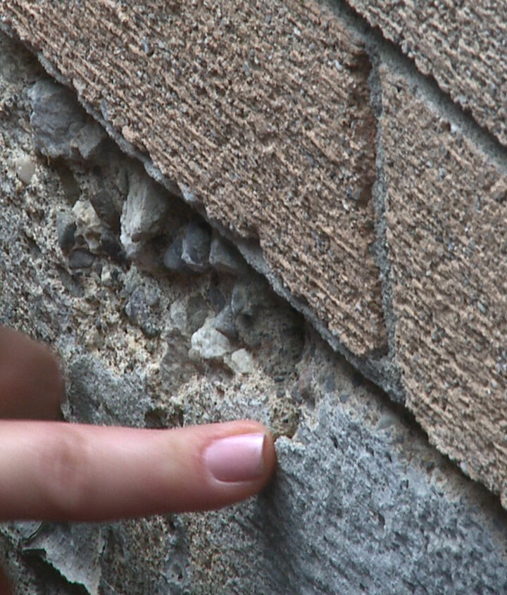 Cracked Concrete can compromise the water seal of your basement.
