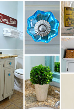 guest bathroom reveal vintage inspired, bathroom ideas, home decor, a vintage inspired guest bathroom