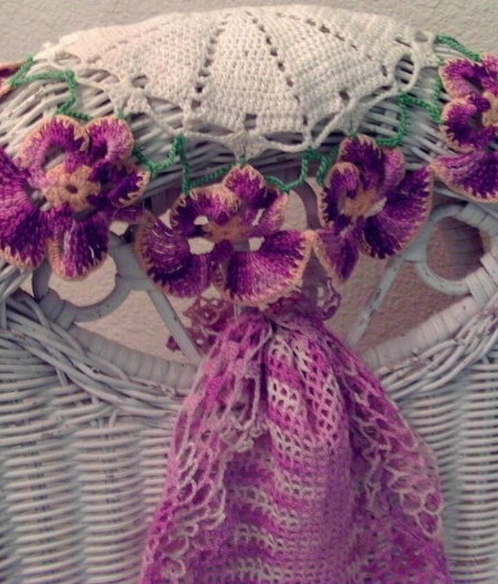 Pansy doilies...