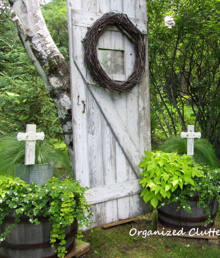 bless the blooms, crafts, gardening, outdoor living, repurposing upcycling
