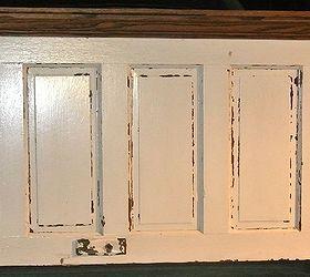 Gentil 5 Panel 90 Yr Old Door Converted Into A King Size Door Headboard, Doors,