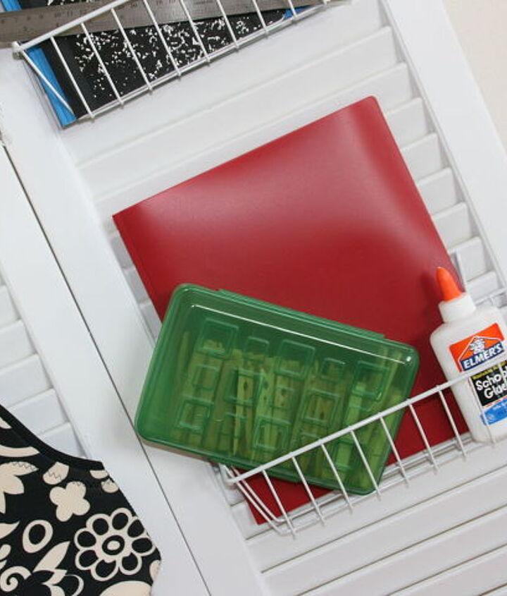 get organized for back to school, organizing, storage ideas