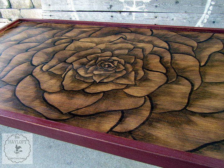 ugly 70 s ish coffee table makeover, painted furniture