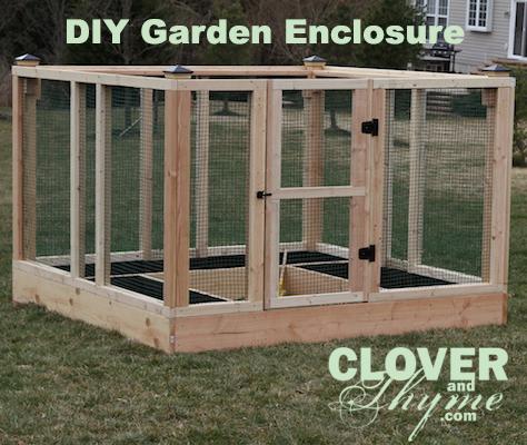 Diy Raised Bed Garden Enclosure Gardening Beds We Used