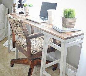 Diy Barstool Desk, Diy, Painted Furniture, Repurposing Upcycling, This Desk  Was Really