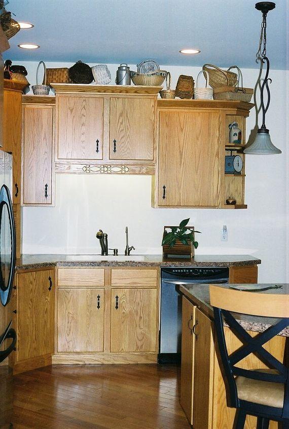 custom oak kitchen, home decor, kitchen design